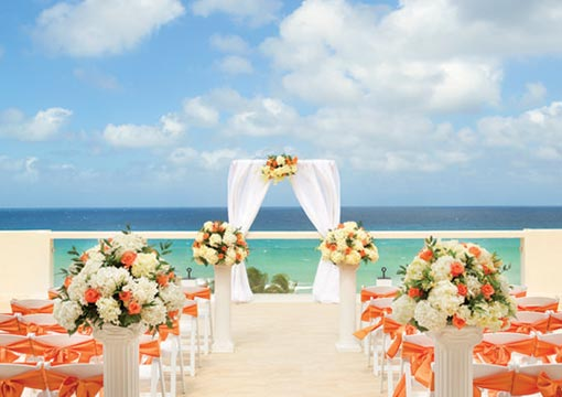 Destination wedding day in Montego Bay Jamaica