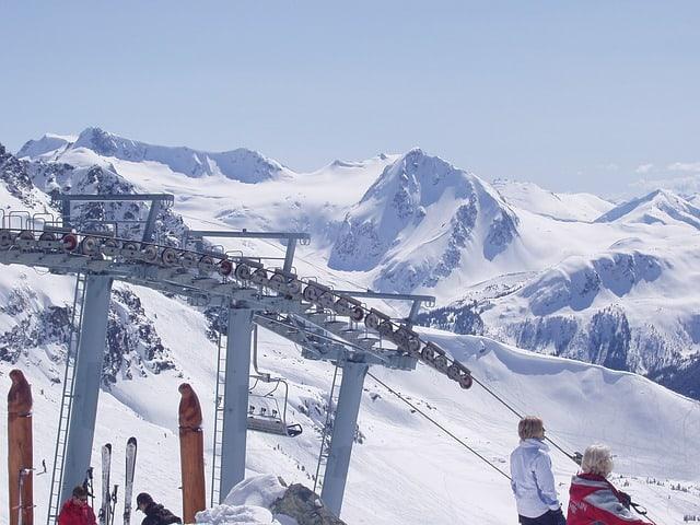 ski honeymoon