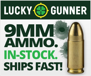 Cheap 9mm Ammo at Lucky Gunner