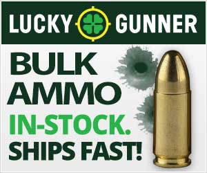 Cheap bulk ammo at Lucky Gunner