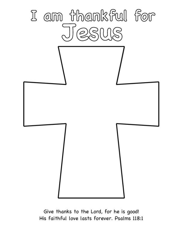 jesus on the cross coloring page # 70