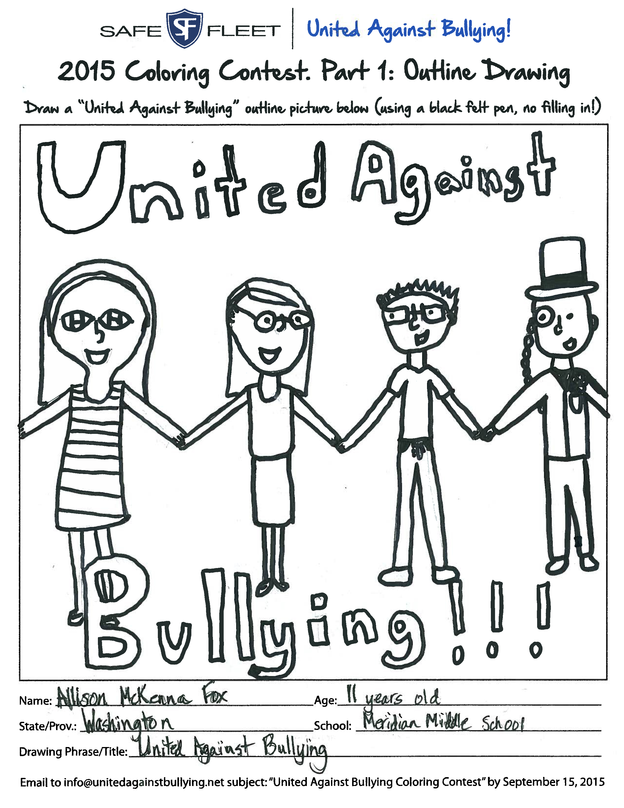 19 Bullying Coloring Pages Printable Download
