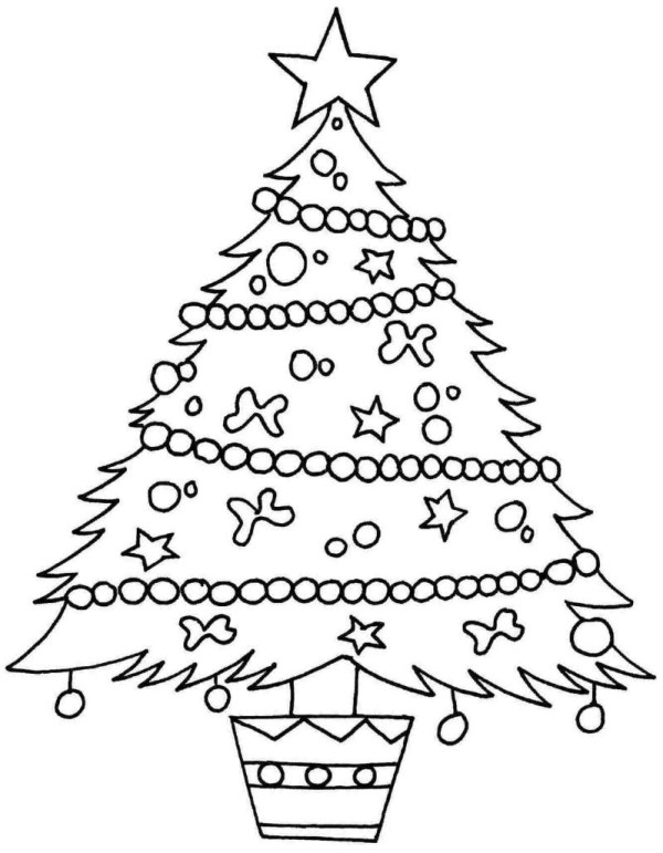 coloring pages of christmas trees # 31