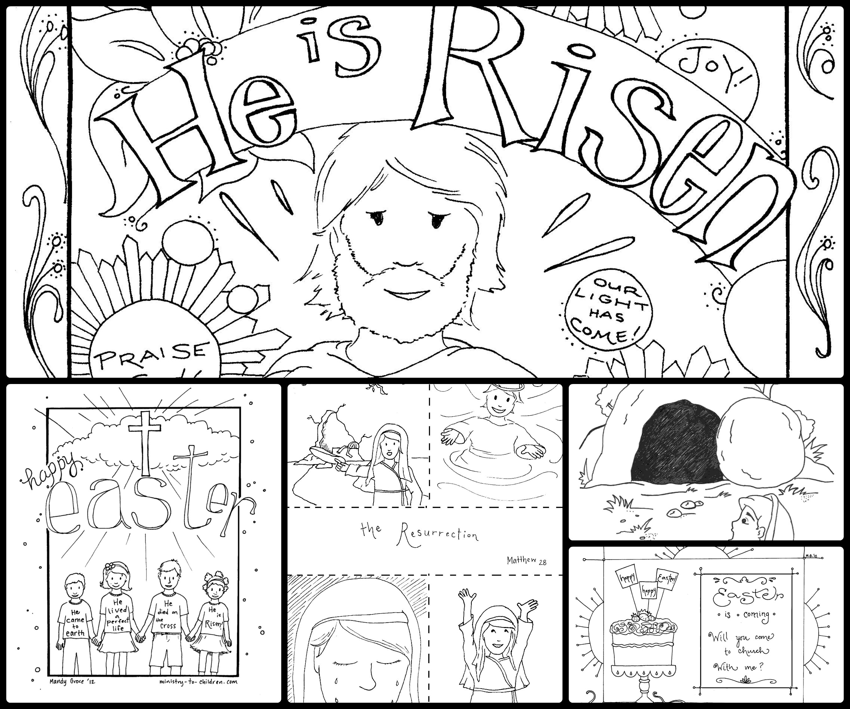 28 Coloring Pages Of Jesus Christ Resurrection Download