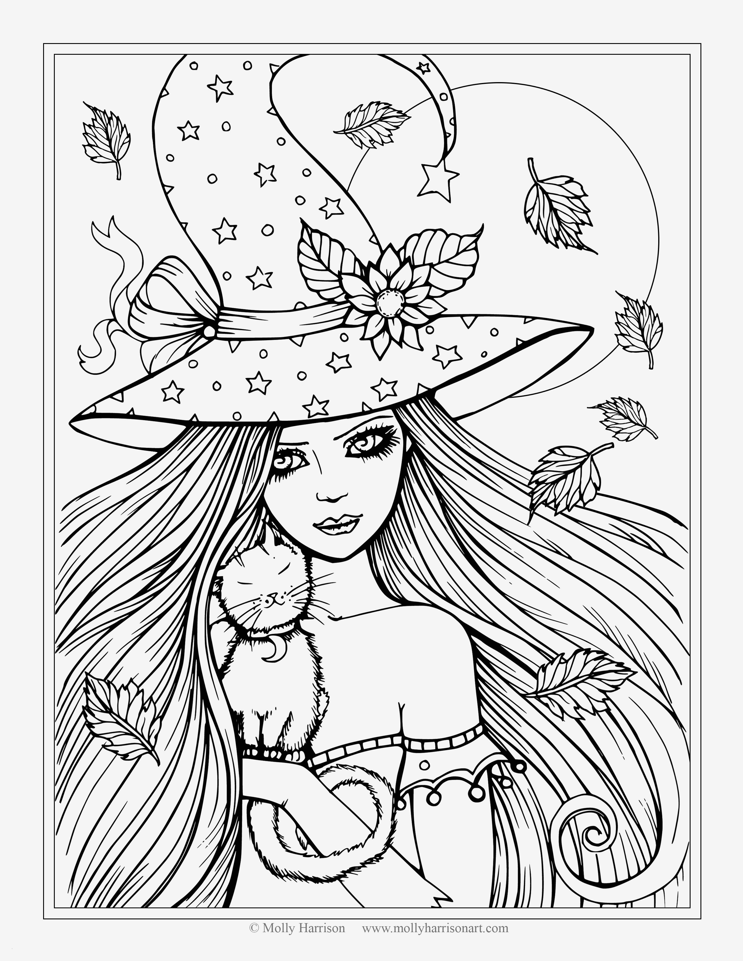 20 Easy Halloween Coloring Pages Collection