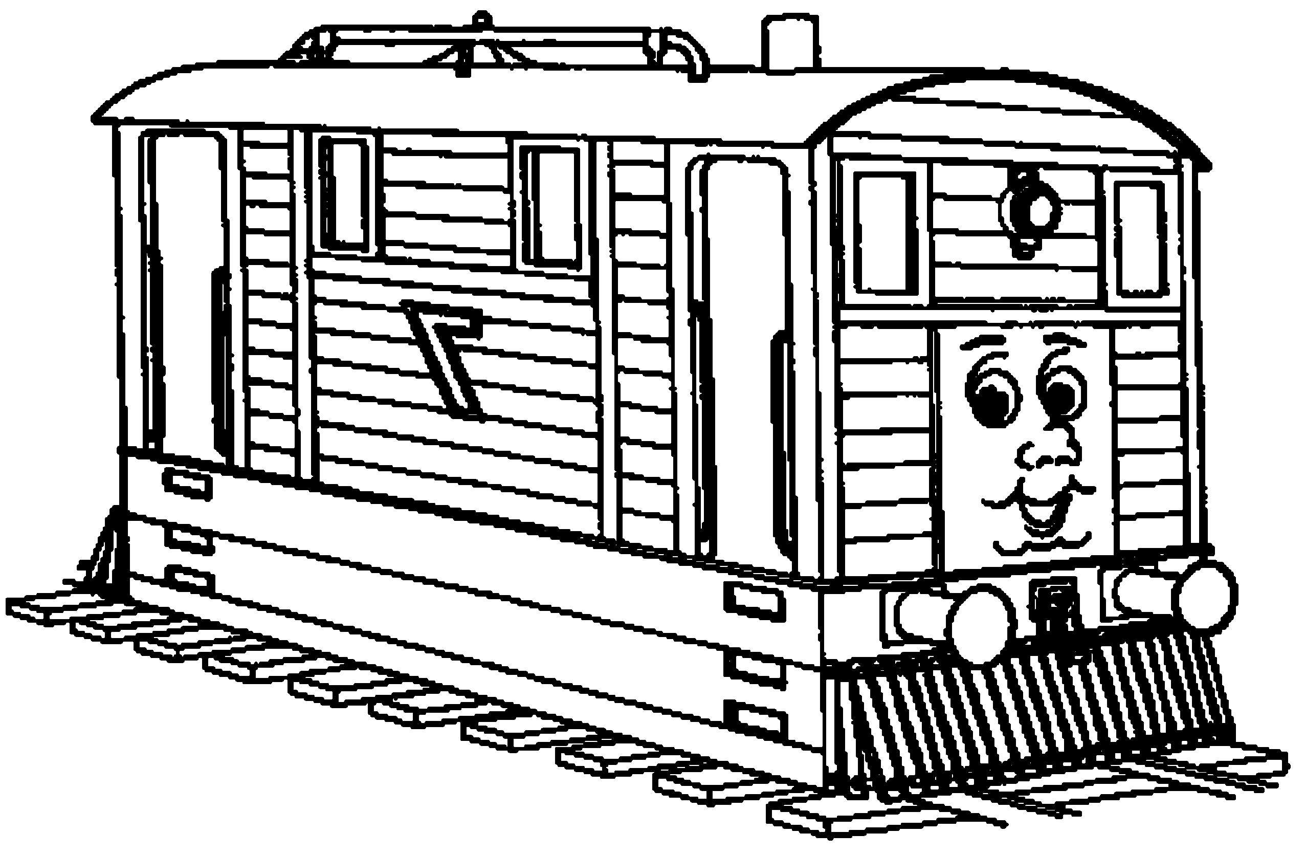 24 Free Thomas Train Coloring Pages Gallery