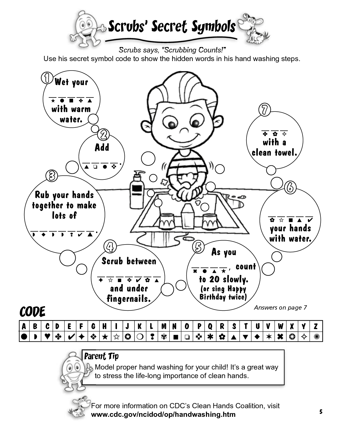 30 Hand Washing Coloring Pages For Preschoolers Download