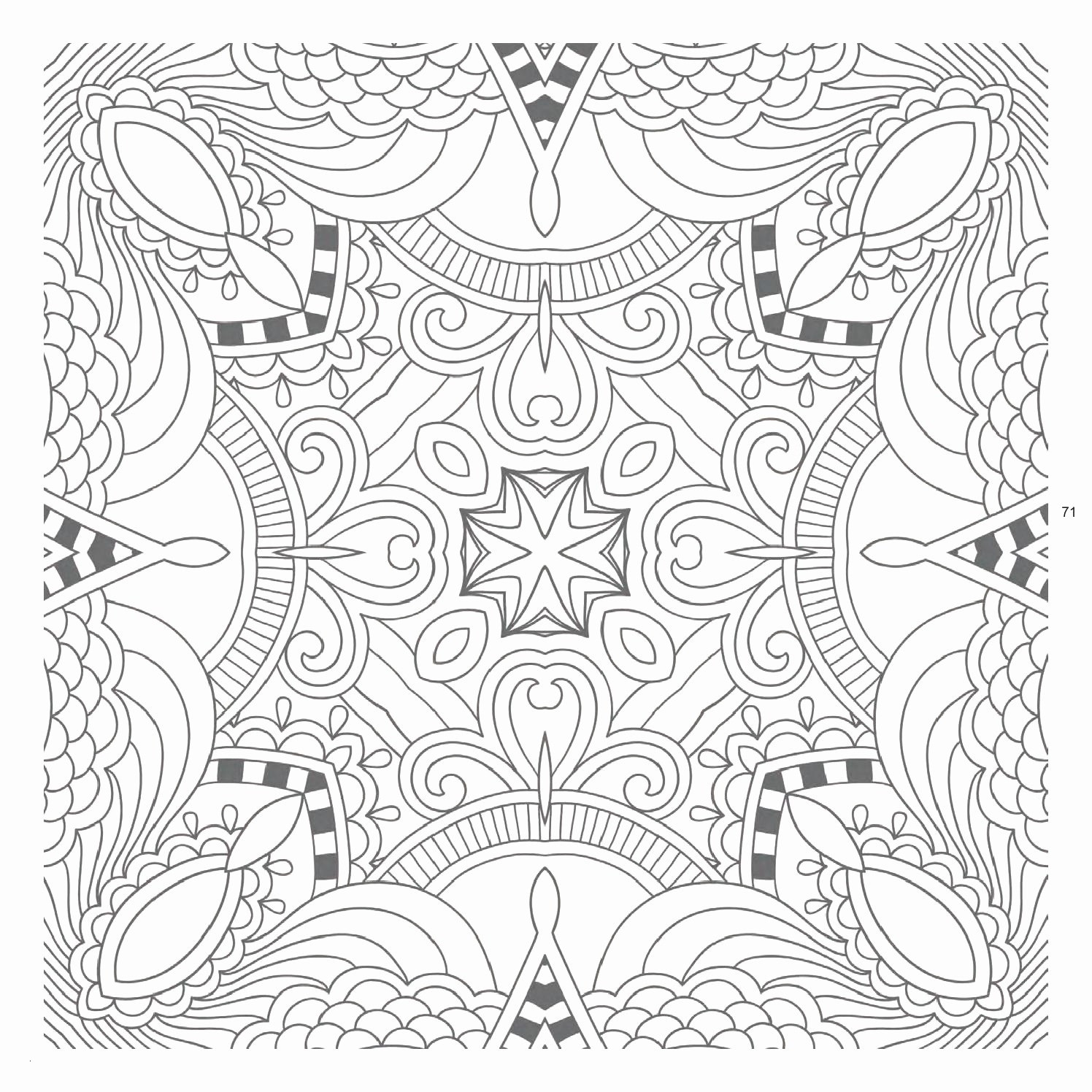 29 Intricate Mandala Coloring Pages Collection