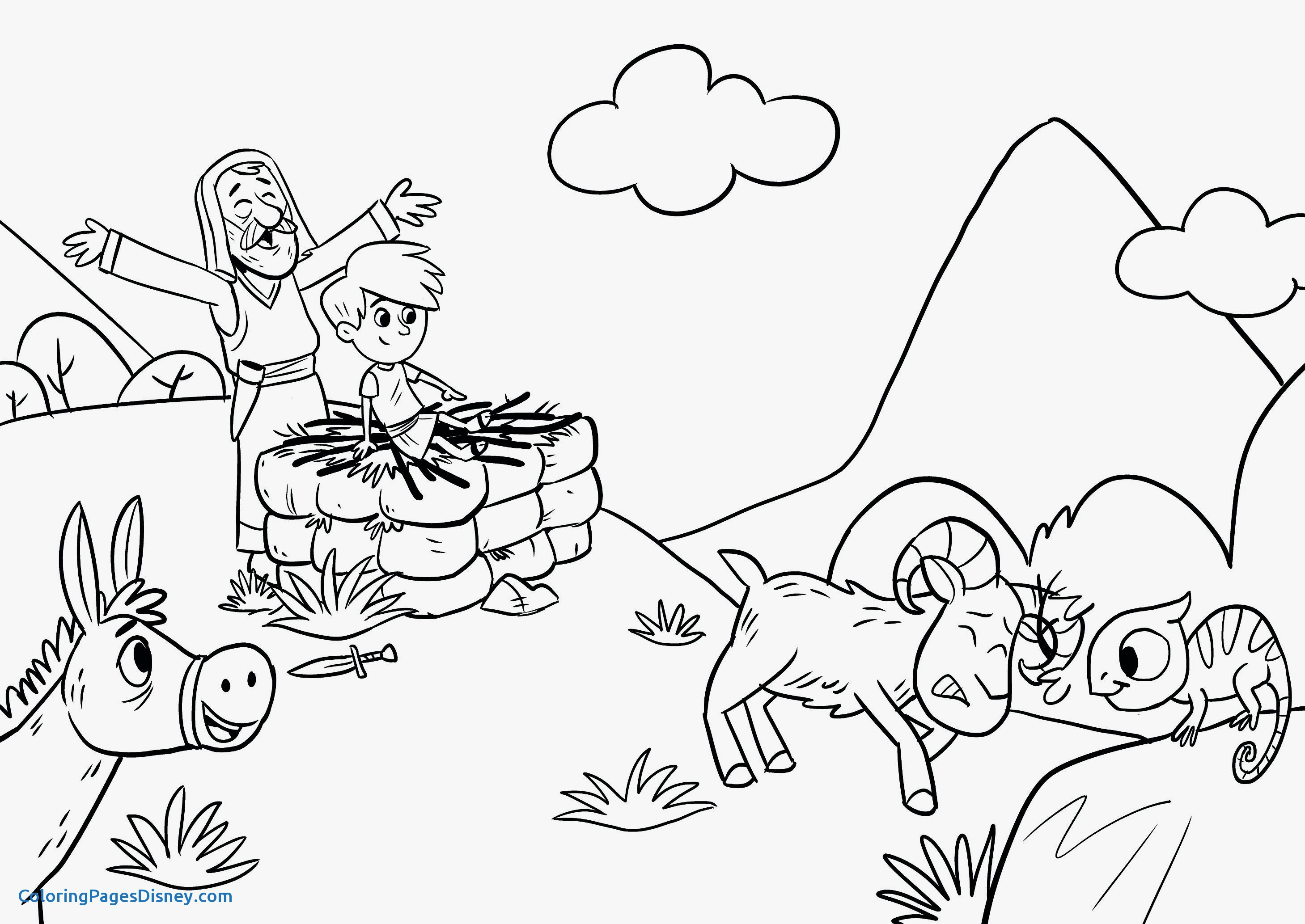24 Isaac And Rebekah Coloring Pages Collection