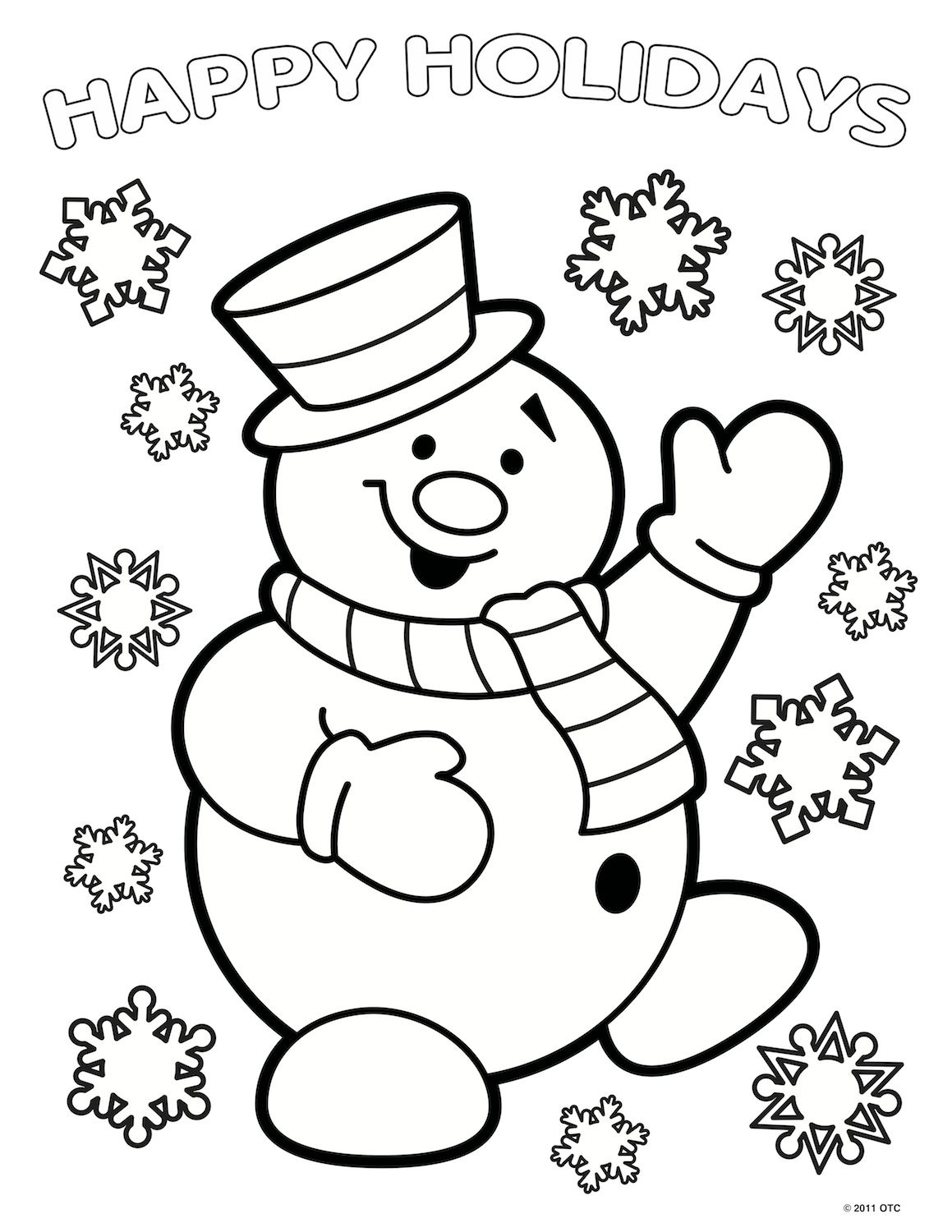 30 Santa Claus Coloring Pages Gallery