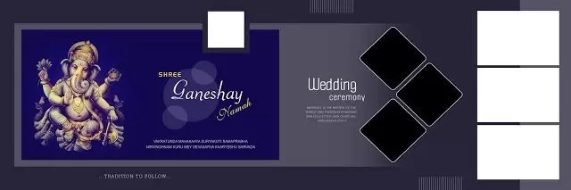 Karizma Album Design 12x36 Psd Wedding Background Free