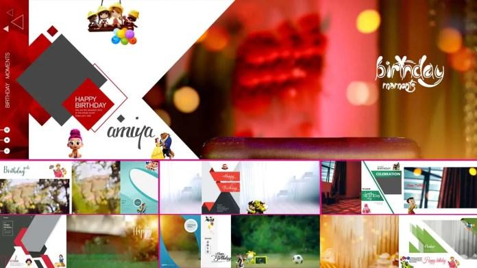 Birthday Album DM Design