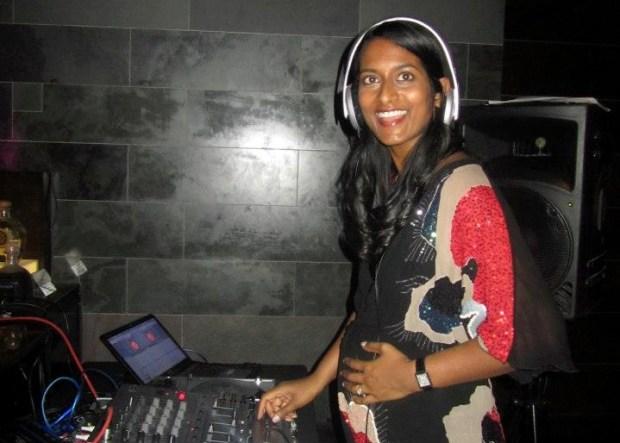 Sunita & bump DJ photo 2012