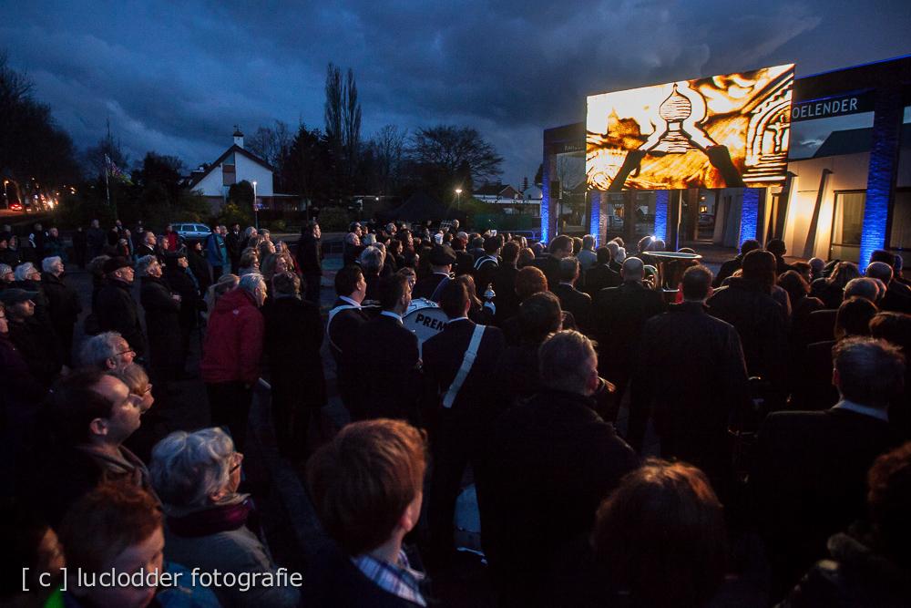 Opening Stadhuis Voerendaal, zandkunstenaar Ger va