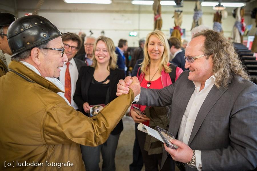 Kamerleden bezochten het Domaniale Mijnmuseum in Kerkrade.