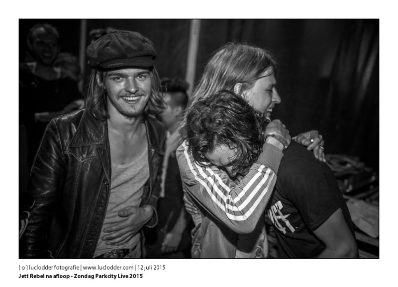 Jett Rebel - Zondag Parkcity Live 2015