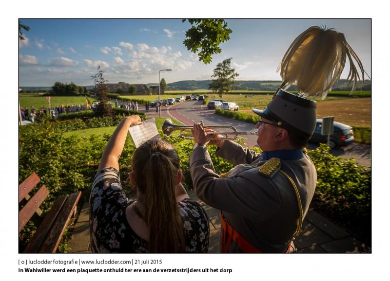 In Wahlwiller werd een plaquette onthuld ter ere aan de verzetsstrijders uit het dorp