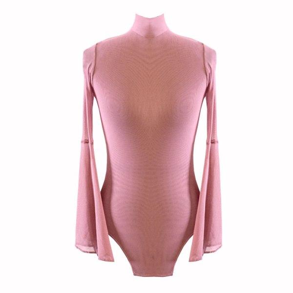 "Bodysuit ""Flamingo"" - Rosa Flamingo, Chica"