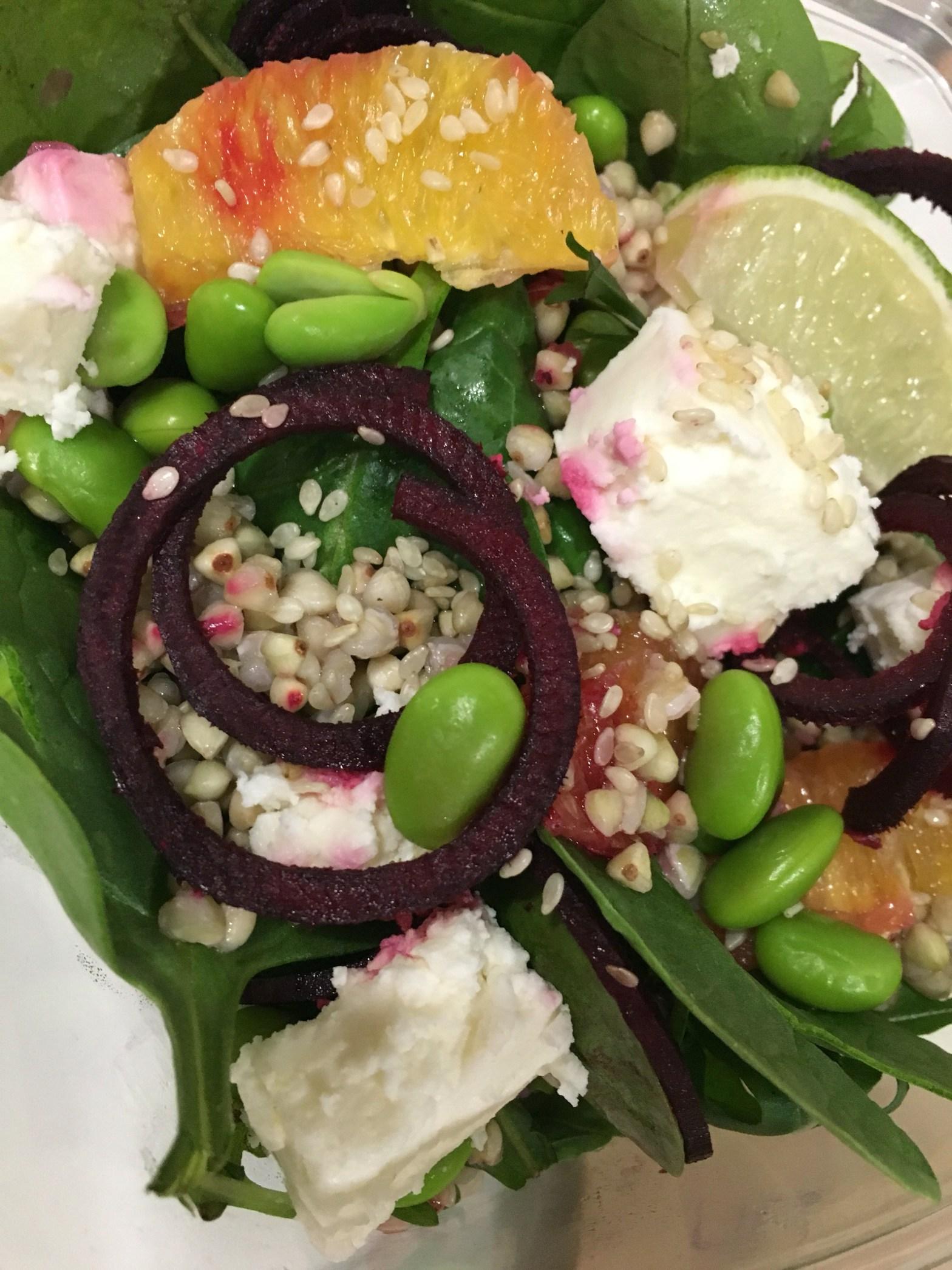 Super fast food salad