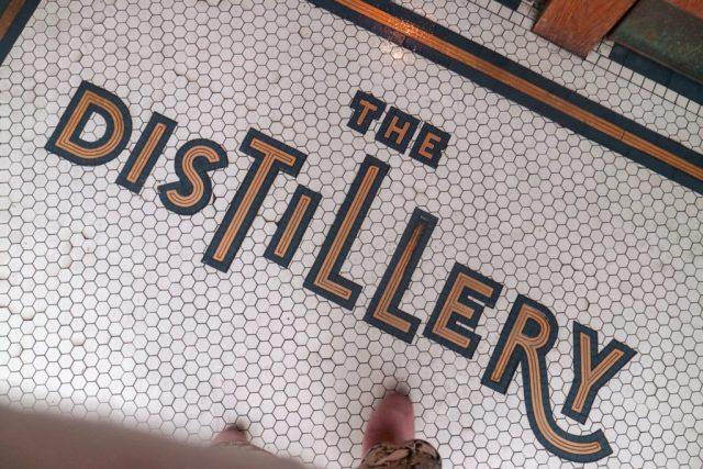 entrance of Portobello Road Gin and The Distillery Hotel