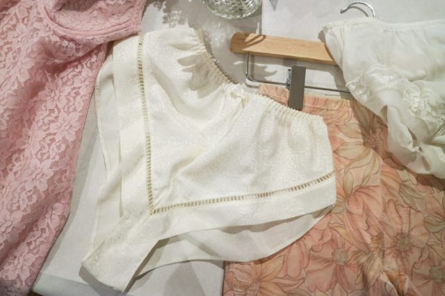 '80s french satin knickers from the archive