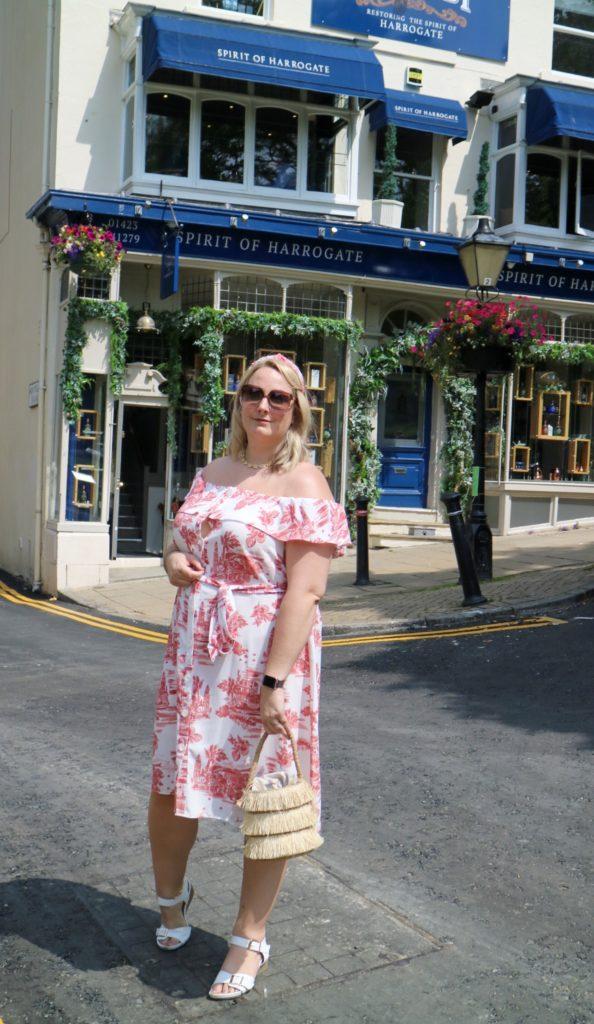 me outside the Spirit of Harrogate