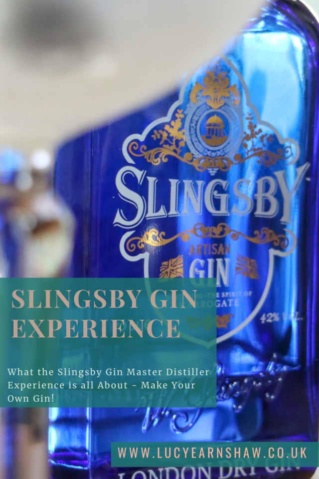 Slingsby Gin Experience