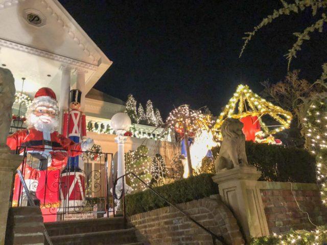 Dyker Heights , Brooklyn, Christmas Lights,