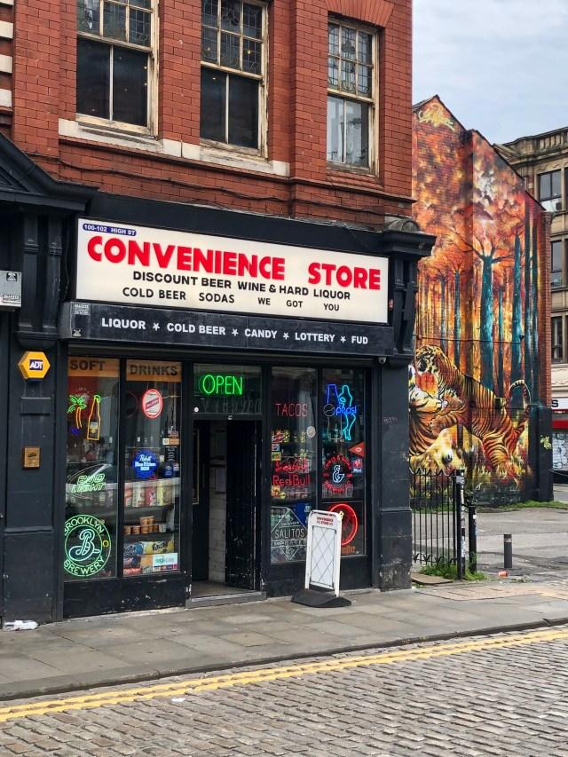 the convenience store hidden bar in Manchester