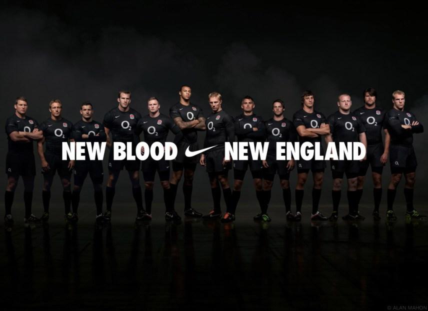 ALAN MAHON england rugby team nike