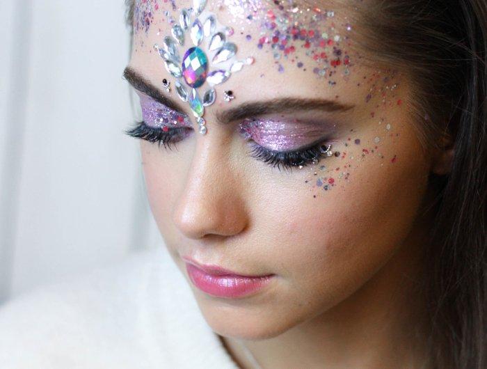 festival makeup workshop