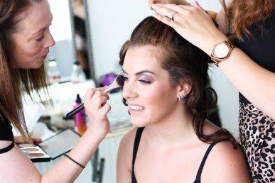 1-2-1 makeup artist photoshoot