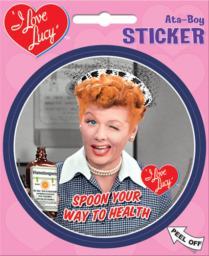 I Love Lucy Stickers