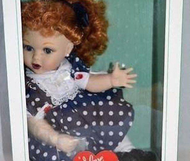 I Love Lucy Precious Kids Rickys Old Girlfriend Baby Lucy Doll