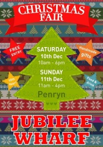 XMAS POSTER - IDEAS - knitted stripes