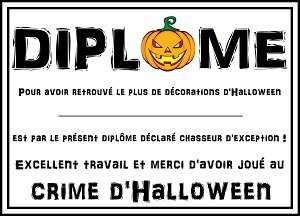 le crime d halloween