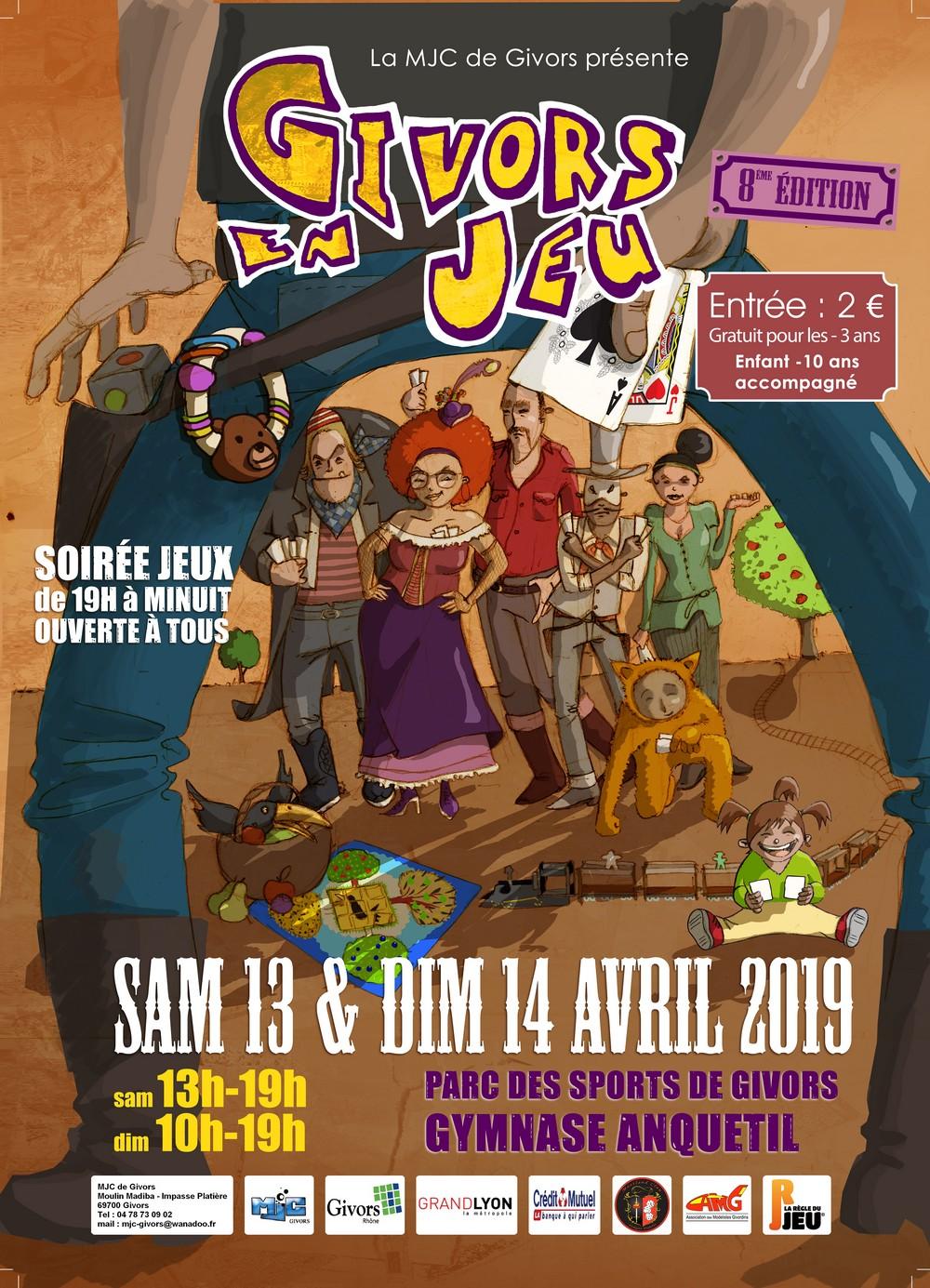 Festival Givors en jeu 2019