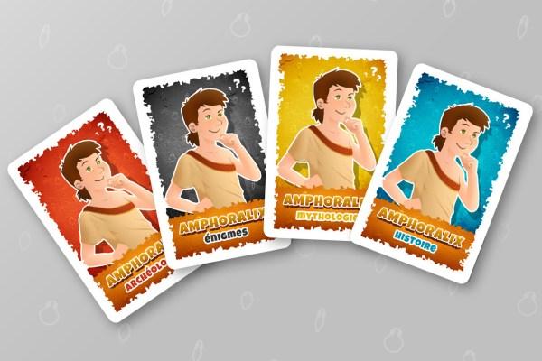Cartes jeu de 7 familles sur mesure