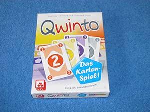 Qwinto: Das Kartenspiel