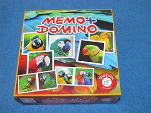 Memo + Domino: Papageien