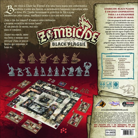 zombiecide - black pague