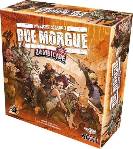 Zombicide season 3 - rue morgue