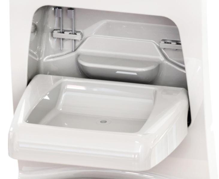 mur sanitaire 4000 pour salle de bain loisirs