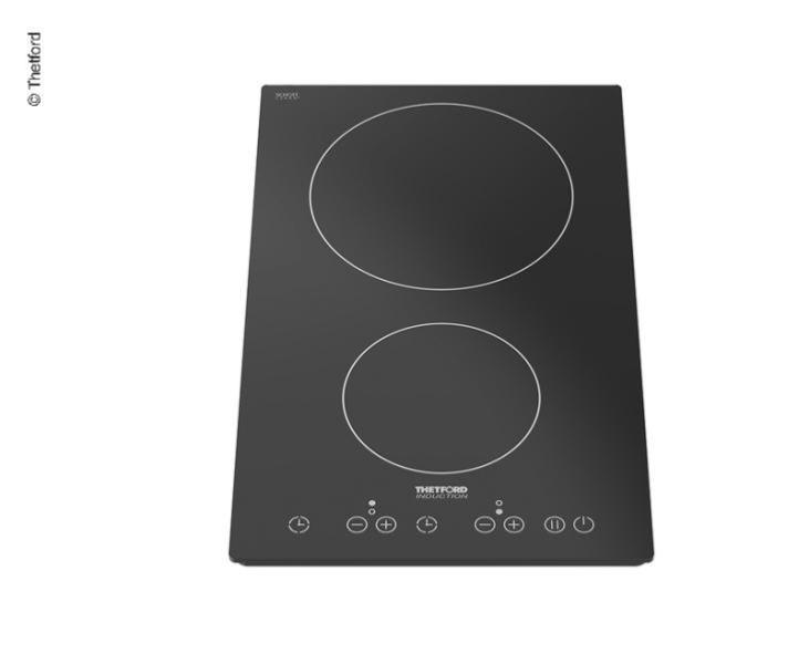 plaque de cuisson electerique 2 feux induction 230v thetford topline 902 500x305mm
