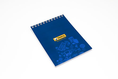 Lufni, Promotional notebook gifts in Egypt