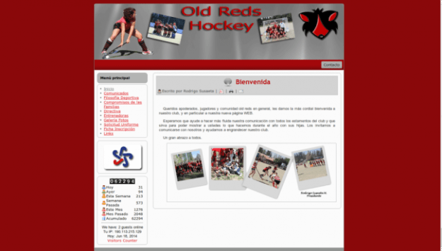 Club Old Reds Hockey Césped