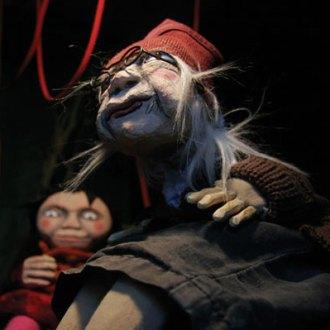 Lilo im Park als Puppentheaterstück