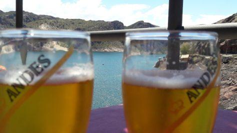 Imagen desde el bar Dique Valle Grande