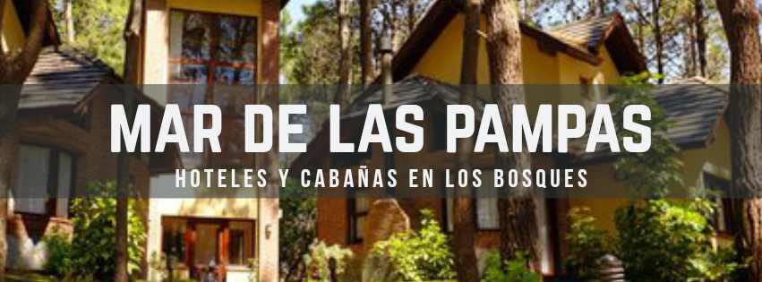 hoteles y cabañas en Mar de Las Pampas www.lugaresparavisitar.com.ar