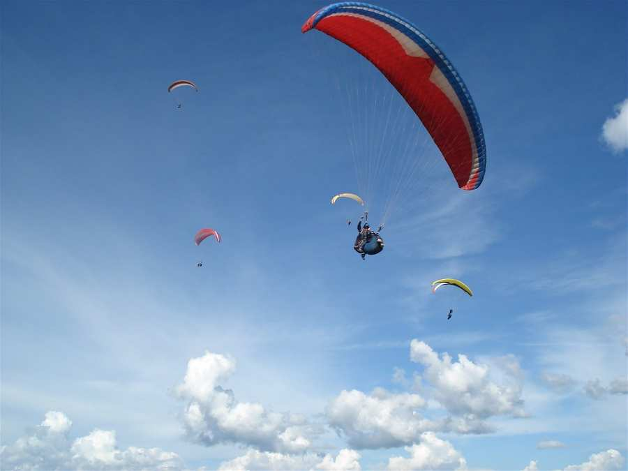 Parapente instructor en Mendoza